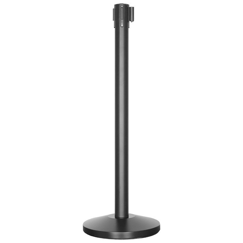 crowd-control-system-for-line-management-retractable-belt-stanchions-retractable-crowd-control-stanchions-metal-stanchions-rbp632