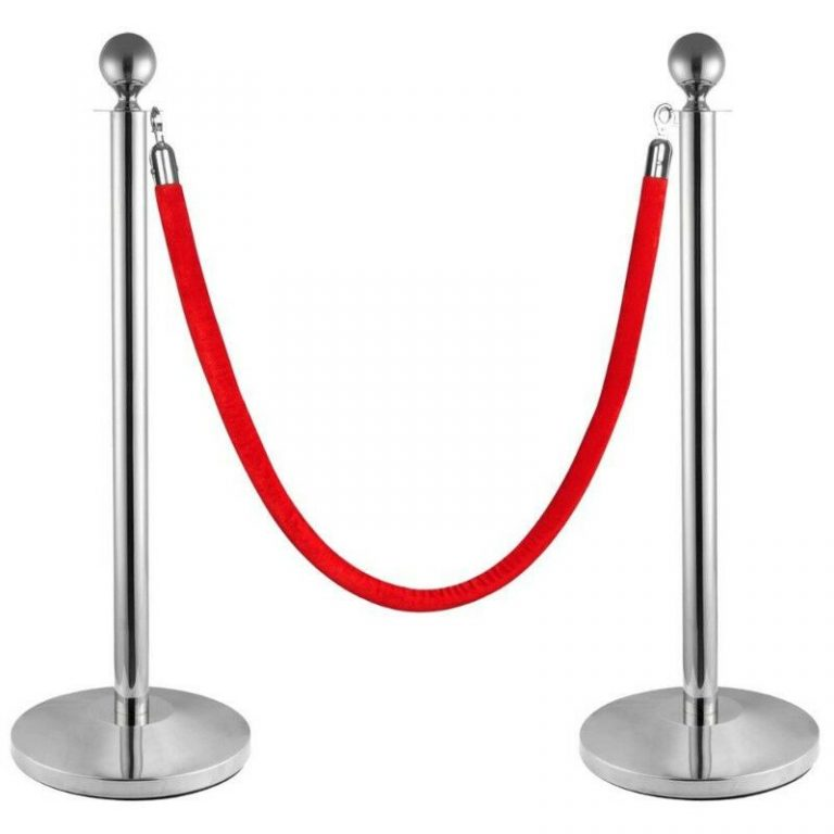 ball top rope stanchion barrier VR-51 image 1