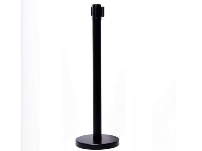retractable belt stanchion with flat base RBP-632BF image 3